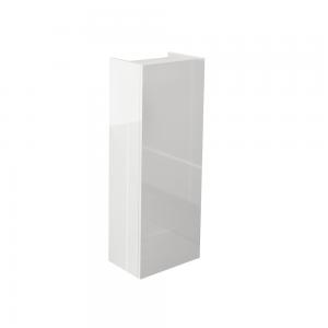 Imex Ceramics ECSSU80WG Echo Single Door Short Storage Unit White Gloss