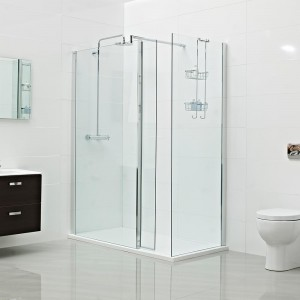 Roman - Embrace -  retro-fit moving Wet Room panel  [ESPM213S]