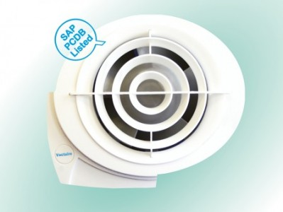 Vectaire ES1003 E-Smile 3 Speed Extractor Fan 100mm