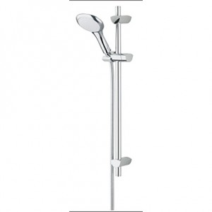 BRISTAN EVO Shower Kit with Large Single Function Handset and 2m Hose Chrome Plated