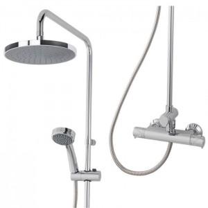 Triton 349372 Dene Bar Diverter Mixer Shower with Fixed & Handheld Showerheads