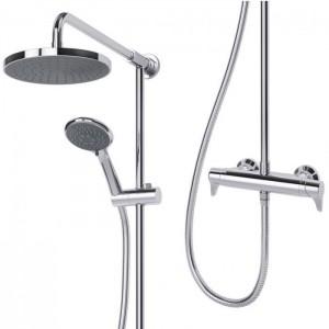 Triton 349383 Eden Bar Mixer Shower with Diverter Chrome
