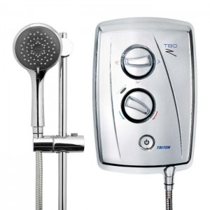 Triton 349481CP T80Z Fast-Fit Electric Shower 8.5kw Chrome