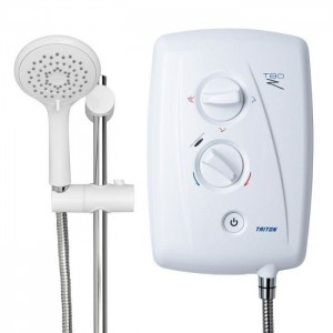 Triton 349482WC T80Z Fast-Fit ECO Electric Shower 8.5kw White
