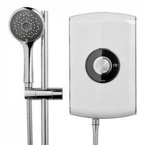 Triton 349392WT Amore Electric Shower 8.5kw White Gloss