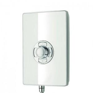 Triton 349350WG Aspirante Electric Shower 8.5k White Gloss