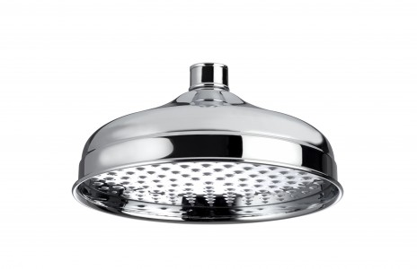 BRISTAN Traditional 200mm Round Fixed Head Chrome