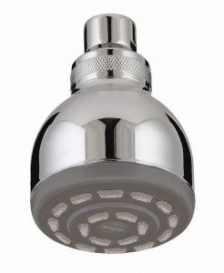 BRISTAN Single Function Fixed Head Chrome Plated