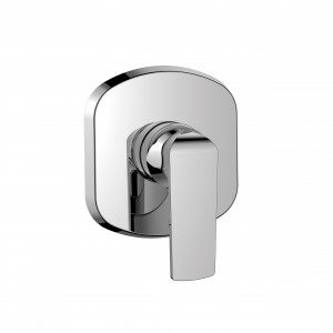 Flova FNSHVOS Fusion Concealed Manual Shower Mixer (Small Plate)