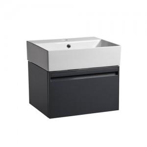 Tavistock FR50WDGG Forum 50cm Wall Vanity Unit - Dark Grey