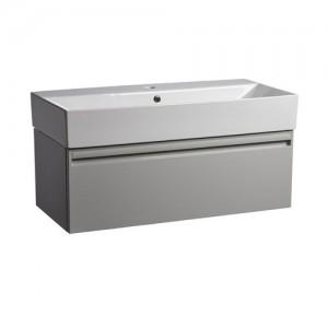 Tavistock FR90WG Forum 90cm Wall Vanity Unit - Light Grey