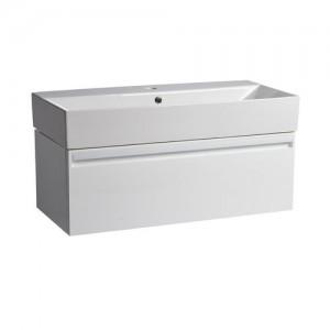 Tavistock FR90WW Forum 90cm Wall Vanity Unit - White