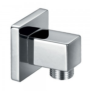 Flova FVKI121 Square Wall Outlet Elbow