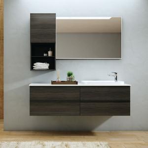 Imex Ceramics FZHF2775-1500-B0031 Liberty Four Drawer Cabinet 1500mm Grey Oak