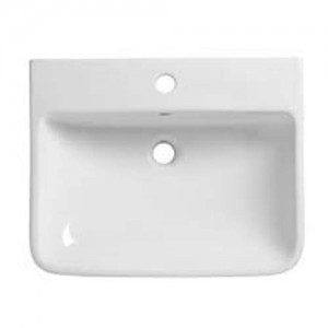 Tavistock Agenda Basin 50 x 10.5h x 40.5cm. One tap hole - White [G3SCBAS50]