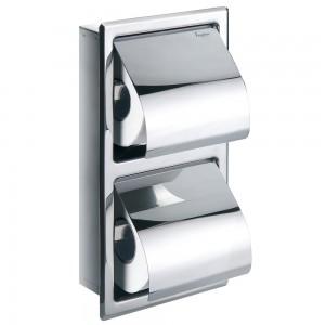 Flova GL8965A Gloria Double Concealed Toilet Roll Holder