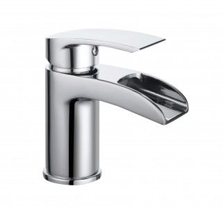 BRISTAN Glide Waterfall Basin Mixer without Waste Chrome