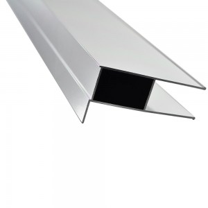 HAVEN H4ZEX2S Haven8 Extension Profile 1950mm Silver