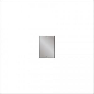 HIB 60955900 Drilled Mirror 4mm Float Glass 350 x250mm