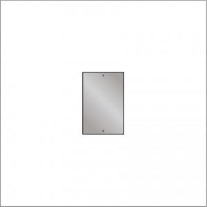HIB 60956000 Drilled Mirror 4mm Float Glass 450 x 300mm
