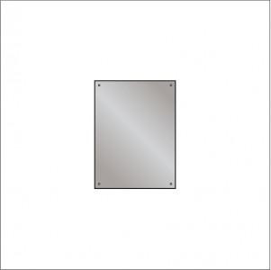 HIB 60956100 Drilled Mirror 4mm Float Glass 600 x 450mm