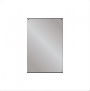HIB 60956300 Drilled Mirror 4mm Float Glass 900 x 600mm
