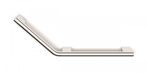 HIB ACCACH03 (Chrome) Angled Grab Rail (Left) 240 x 670mm