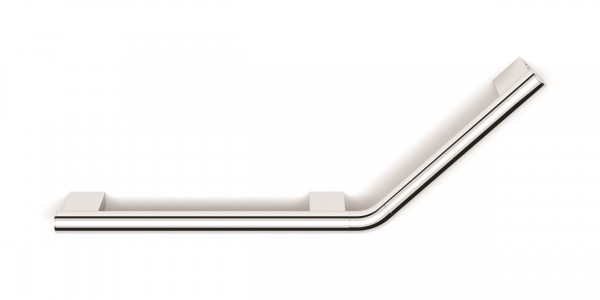 HIB ACCACH04 (Chrome) Angled Grab Rail (Right) 240 x 670mm