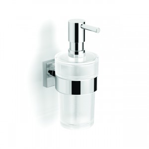 HIB ACHECH04 Hecto (Chrome) Wall Mounted Soap Dispenser 180 x 70mm