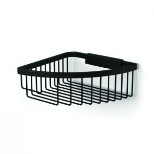 HIB ACSBBK01 (Black) Corner shower basket traditional 80 x 190mm