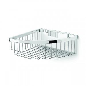 HIB ACSBCH05 (Chrome) Corner shower basket traditional 190 x 80mm