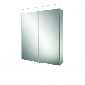 HIB 47100 Apex 60 LED Charging Mirrored Cabinet 750 x 600mm