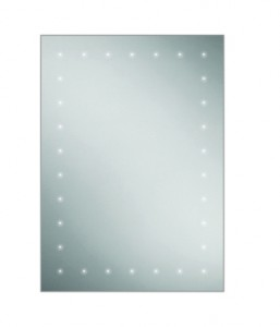 HIB 77450000 Astral LED and Charging Socket Mirror 700 x 500mm