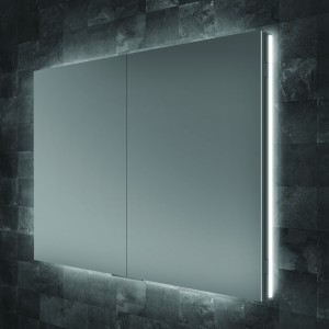 HIB 53200 Atrium 80 Semi-Recessed Cabinet 700 x 800mm