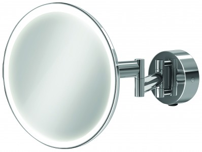 HIB 21100 Eclipse Round LED Magnifying Mirror 200mm