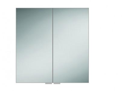 HIB 48100 Eris 80 Aluminium Mirrored Cabinet 700 x 800mm