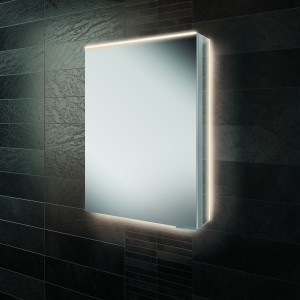 HIB  50500 Ether 50 LED Demisting Mirrored Cabinet 700 x 500mm