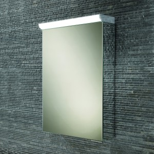 HIB 44600 Flux LED Mirrored Cabinet with Mirrored Sides 600 x 400mm