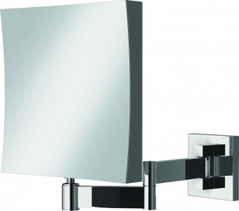 HIB 21500 Helix Square Magnifying Mirror 170 x 170mm