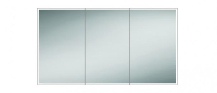 HIB 48000 Qubic 120 LED Mirrored Cabinet 700 x 1200mm