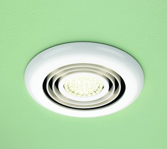 HIB 34000 Turbo Inline Fan  White -Warm White LED 145mm