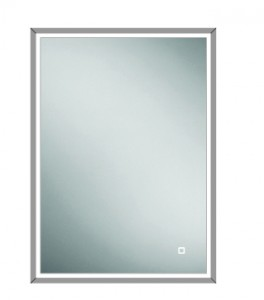 HIB 47600 Vanquish 50 LED Demisting Mirrored Cabinet 730 x 530mm