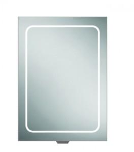 HIB 51400 Vapor 50 LED Demisting Mirrored Cabinet 700 x 500mm