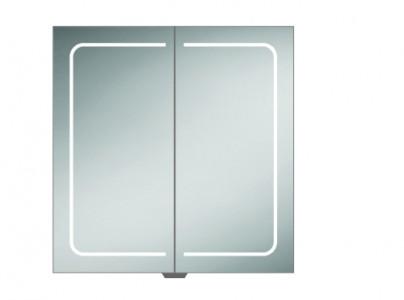 HIB 51600 Vapor 80 LED Demisting Mirrored Cabinet 700 x 800mm