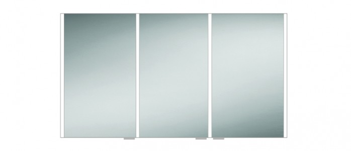 HIB 46300 Xenon 120 LED Mirrored Cabinet with Mirrored Sides 700 x 1205mm