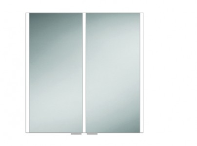 HIB 46200 Xenon 80 LED Mirrored Cabinet with Mirrored Sides 700 x 820mm