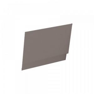 Imex SUEBP700MA Suburb End Panel with Adj Plinth 700mm - Matt Ash