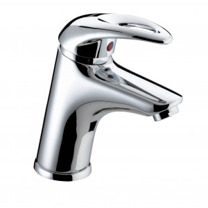 BRISTAN Java Basin Mixer with Eco-Click and Clicker Waste Chrome