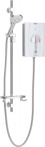 BRISTAN Joy Care kit and handle dial 9.5kW Electric Shower White