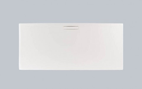 Just Trays 211ASE1080015 Evolved AS Rectangle Shower Tray 1000x800mm Mistral Grey